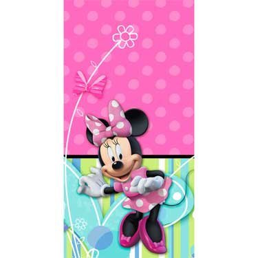 (Disney Minnie Mouse Table Cover Hallmark Party Supplies Birthday Celebration)