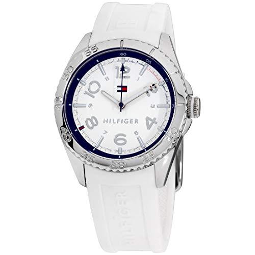 Tommy Hilfiger Women's 1781635 Lizzie Analog Display Japanese Quartz White Watch (White Watch Tommy Hilfiger)