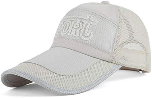 Gorra de béisbol Malla Ajustable Protección Solar Pareja Deportes ...