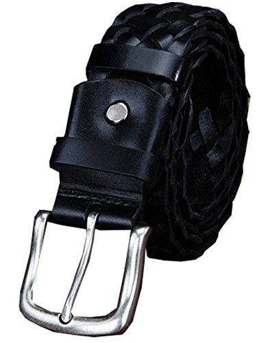 menschwear-mens-full-gebuine-leather-belt-central-buckle-37mm-black-125cm