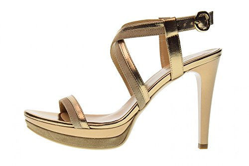 Shoes Nero Sandals 428 Bronze Woman high Heeled P806030DE Giardini O645q4xS
