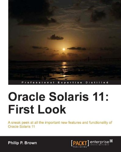 Oracle Solaris 11: First Look Pdf