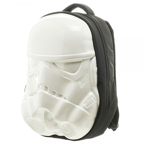 [Disney Star Wars Stormtrooper Moulded Backpack] (Stormtrooper Disney)