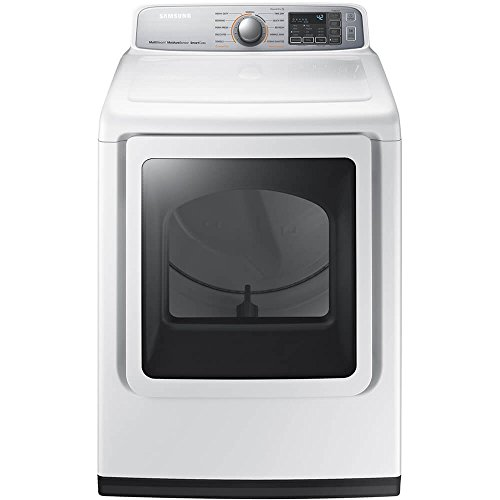Samsung White Gas Steam Dryer