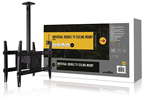 OmniMount DCM250 Dual Ceiling Mount for 32-Inch to 65-Inch TVs ()
