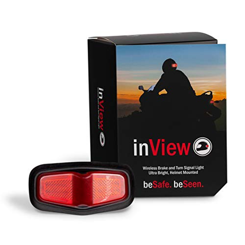 - inView Helmet Brake and Signal Light (red)