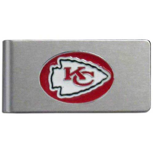 NFL Kansas City Chiefs Brushed Money Clip - Kansas City Chiefs Clip