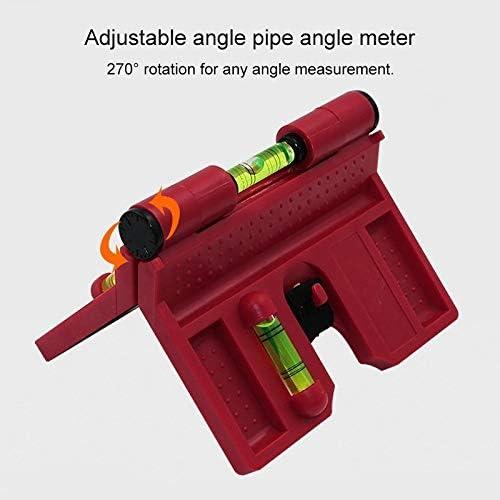 Nologo Protractor IBHT r/églable en Plastique Angle goniom/ètre Outil de Mesure 1