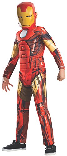 Rubie's Marvel Universe Classic Collection Avengers Assemble Deluxe Muscle-Chest Iron Man Costume ()