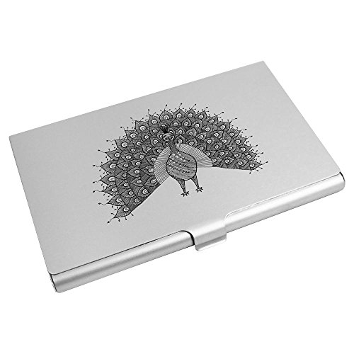 Card Wallet Azeeda Credit CH00011857 'Beautiful Peacock' Card Business Holder qZY74Z0r
