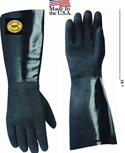 Artisan Griller  Insulated Cooking Gloves for Barbecue Grill & Fry, 17-Inch