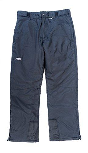(Alpine Ascentials Men's Classic Snow Pant, Black,)