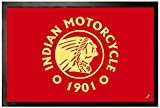 Used Indian Motorcycles Best Deals - Motorcycles Door Mat Floor Mat - Indian Motorcycle, 1901 (24 x 16 inches)