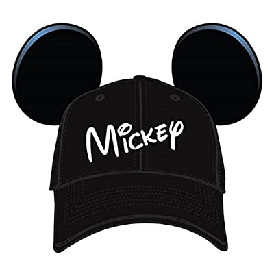 Disney Mickey Mouse Mens' Character Baseball Hat from GiftsNBeyond