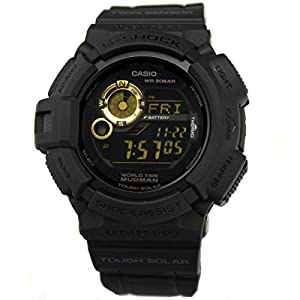 Casio Men's G9300GB-1 G Shock Digital Quartz Black Solar Watch