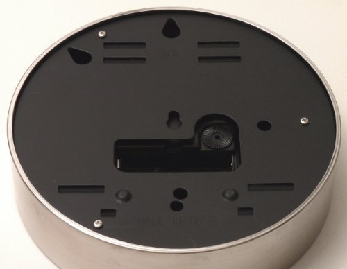 BAI Designer Wall Clock, Helio Black (Bai Wall Clock)