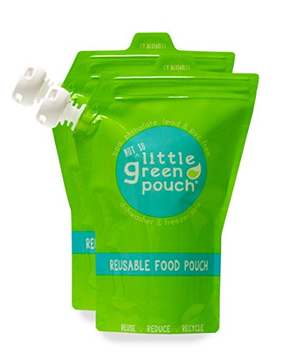 Extra Large 14oz. Reusable Food Pouch | Little Green Pouch