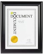 "kieragrace KG Reagan Document Frame - Black, 8.5"" x 11"""