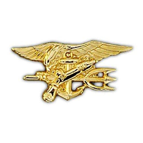 Amazon 1655 Us Navy Seals Insignia Pin Clothing