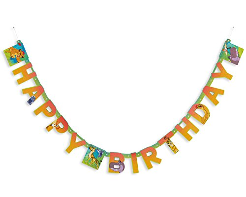Lion Picture Hanging - American Greetings The Lion Guard Happy Birthday Hanging Letter Banner