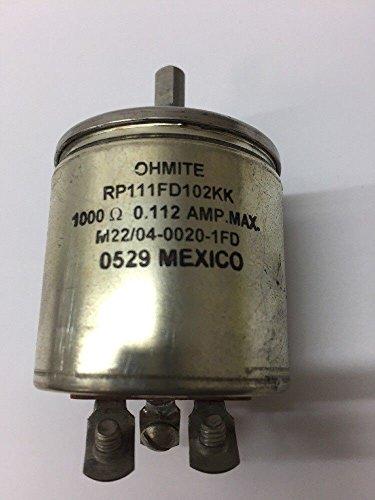 Ohmite Manufacturing Co. Non Wire Wound Variable Resistor RP111FD102KK from Ohmite Manufacturing Co.