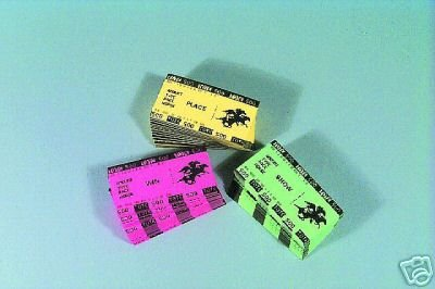 200 Tickets - Win, Place & Show Tickets (Set of 200)
