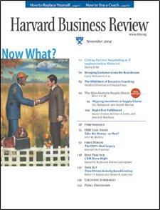 Harvard Business Review, November 2004 Periodical