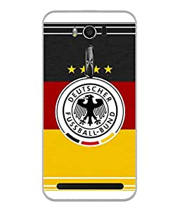 ColorKing Football Germany 15 Multi Color shell case cover for Asus Zenfone 2 Laser ZE550KL