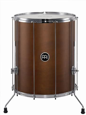 Meinl Percussion SU20-L-AB-M Stand Alone Wood Surdo with 20-Inch Synthetic Head