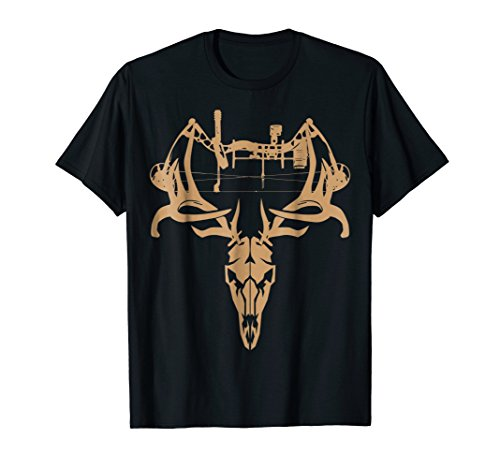 Deer Hunting Bow T Shirt - Gift Shirt for Bow ()