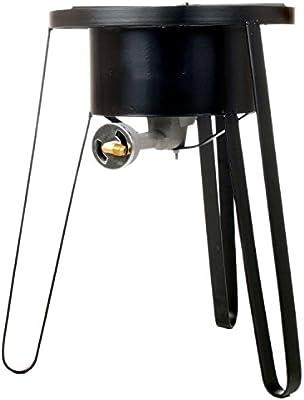Quemador de Gas w/soporte – cocina de gas portátil o propano Camping estufa