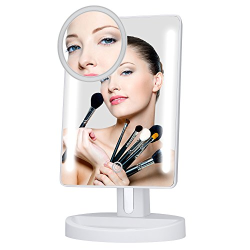 kedsum-dimmable-led-lighted-makeup-mirror-vanity-mirror-85-wide-touch-screen180-adjustableusb-and-ba