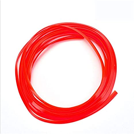 Qiyun 5 m Decorative Car Trim Strip Line, DIY Car Interior Moulding Decoration, Easty to Install Easy to Remove and Replace yellow
