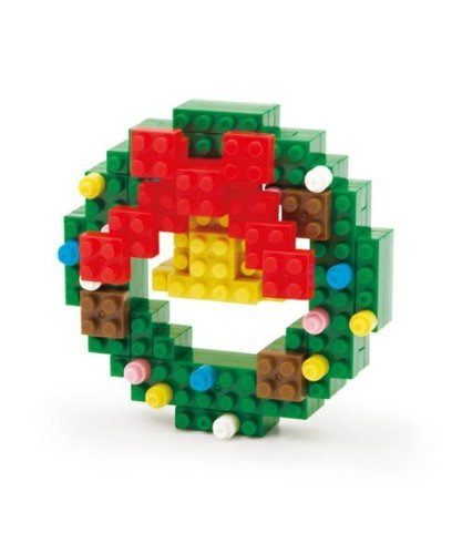 Nanoblock Christmas Wreath 2012xmas [Georges] Limited