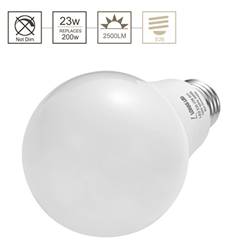 LOHAS-LED-Bulb-150W-200W-Light-Bulbs-Equivalent-23W-A21-LED-Bulbs-2500-Lumens-Daylight-5000K-Medium-Screw-BaseE26-Bulb-Not-Dimmable-LED-Lights-for-Home-LightingPack-of-4