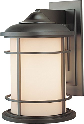 Murray Feiss Fans - Feiss OL2202BB Lighthouse Outdoor Patio Lighting Wall Lantern, Bronze, 1-Light (9