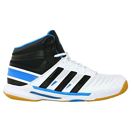 adidas Stabil 10.1 High - Zapatillas de balonmano para hombre blanco/negro Talla:7,5 UK - 41,1/3 EU