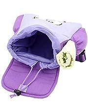 libelyef Dora Explorer rugzak, zachte pluche rugzak voor kleine kinderen, reddingstas met kaart voor kleuterschool, kleuters, lila