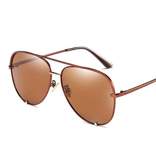 Protección Sol De Gafas Mujer C3 UV Aviator para para Hombre 400 C3 Polarizadas aAn115xq8