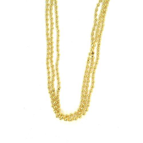 Dz Gold Beads 33 7mm