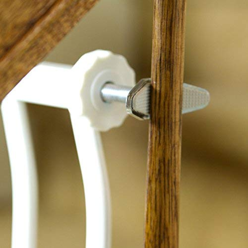 Dreambaby Banister Gate Adaptors, Silver (Limited Edition)