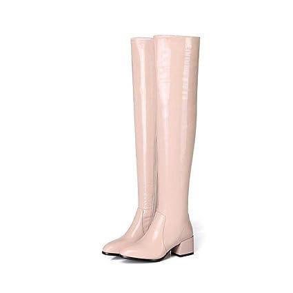 a06803e4414e2 Amazon.com: YaXuan Women's Over The Knee Boots, Fall Winter High ...