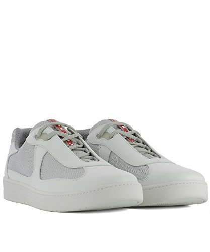 Bianca Uomo Pelle Sneakers 4e316600vf0j36 Prada In d6wUqUI