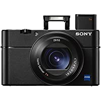 "Sony Cyber-shot DSC-RX100 V 20.1 MP Digital Still Camera with 3' OLED, flip screen, WiFi, and 1"" sensor"