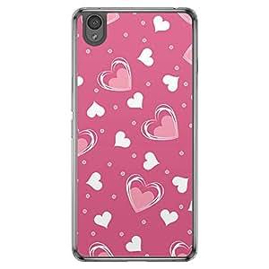 Loud Universe OnePlus X Love Valentine Printing Files Valentine 120 Printed Transparent Edge Case - Pink
