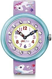 Flik Flak Kids, Purple Casual Watch (Model: ZFBNP033)