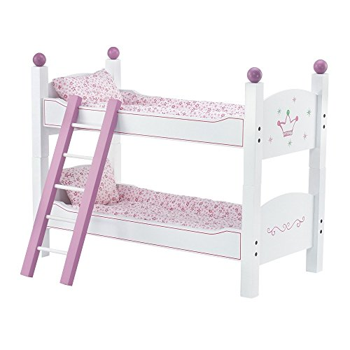 18 Inch Doll Furniture 2 Single Beds Stackable Bunk