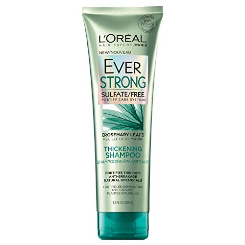 - L'Oreal Paris EverStrong Thickening Shampoo Rosemary, 8.5 Fluid Ounce