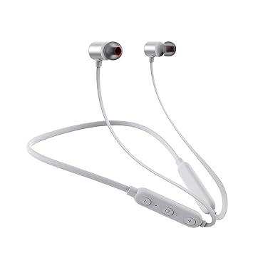 Auriculares Bluetooth Para Correr, Auriculares Inalámbricos Para Ejercicio O Ejercicios De Gimnasia, Auriculares Estéreo Resistentes Al ...