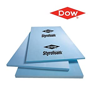 dow craft styrofoam foam sheets 2 x 24 x 48